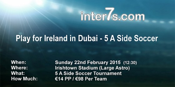 Play 5s for Ireland