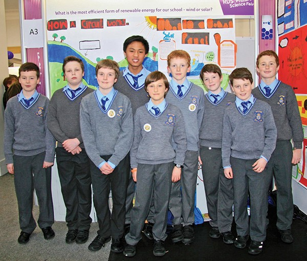 Pictured: 1st–6th class students from Star of the Sea Primary School. Photos by Maria Shields O'Kelly.