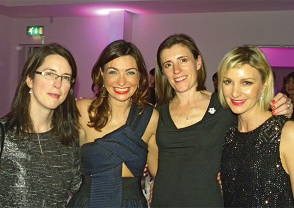 Above: Left to right: Catherine McGorrian, Oonagh O'Hagan, Una McCullagh and Sharon Keane were among those celebrating the club's activities during 2014. Images supplied by Felix O'Regan.