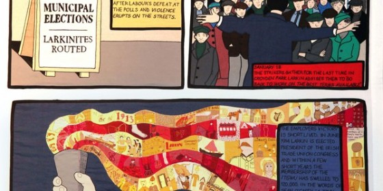 1913 Lockout Tapestry