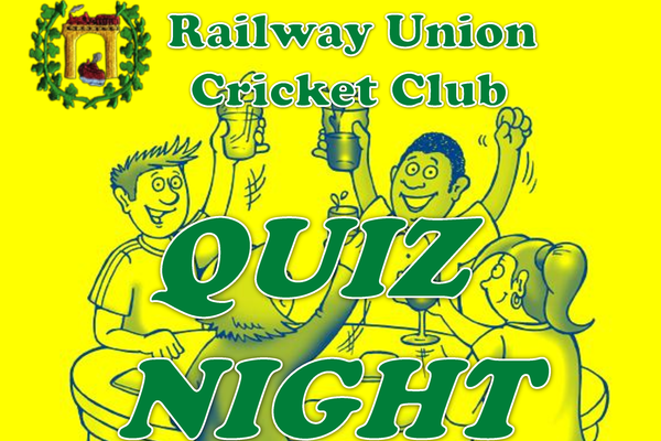 Railway Union Cricket Club Quiz Night
