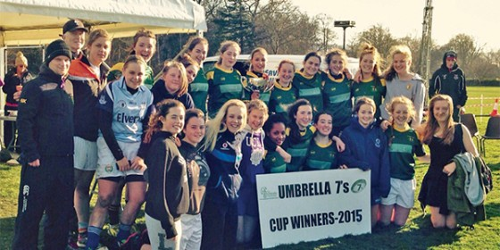 Railway U18s Retain Umbrella 7s
