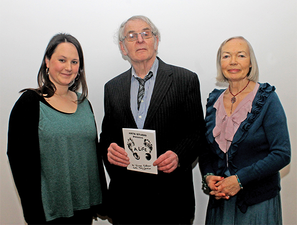 Pictured above, from left to right: Sarah Thorpe Victor Feldman and Mary Guickan.