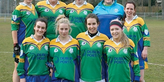 Clanns Ladies show the way