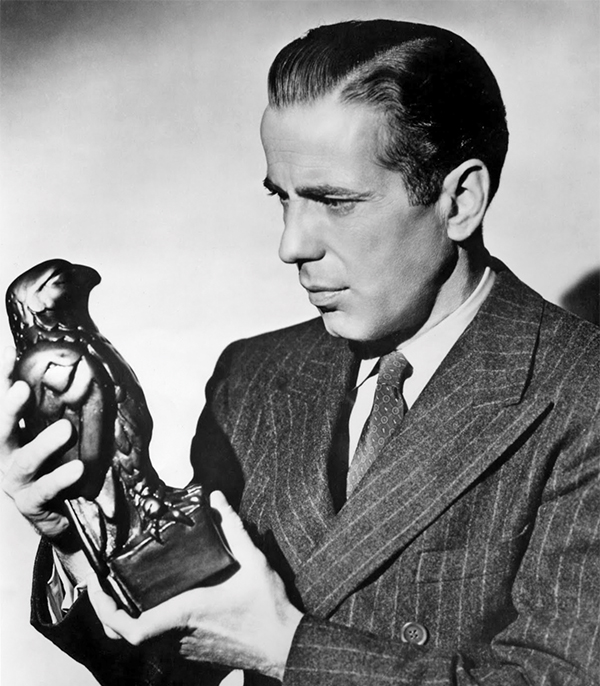 Above: Humphrey Bogart in The Maltese Falcon.