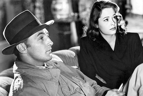 Pictured Above: Robert Mitchum and Jane Greer in Out of the Past.