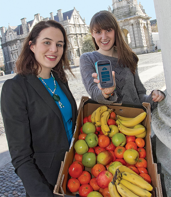 From left: Aoibheann O'Brien and Iseult Ward. Photos courtesy of Foodcloud.