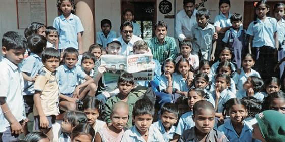Boys Organise Outreach to India