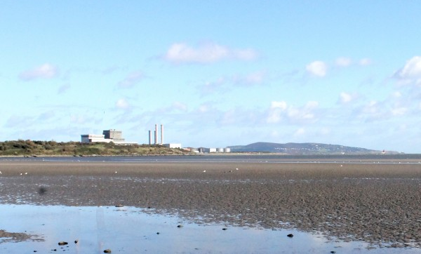 Poolbeg view this morning without chimneys. Pic: Ross Waldron