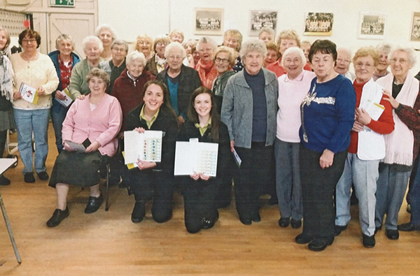 Pictured Above: The Ringsend Active Retirement group is pictured at the CMWSI.