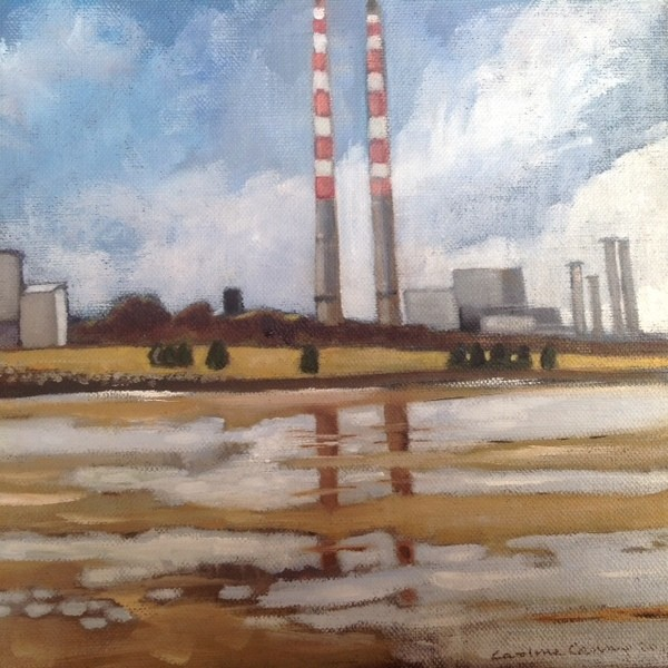 Caroline Canning's Poolbeg Exhibition