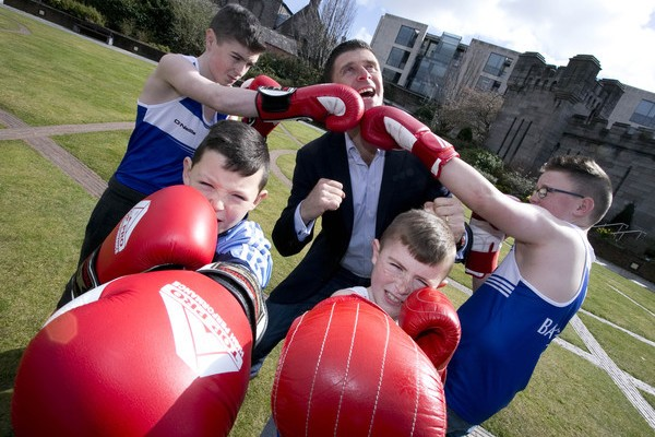 Dublin Bus Community Spirit Awards 2015 - Bay City Boxing