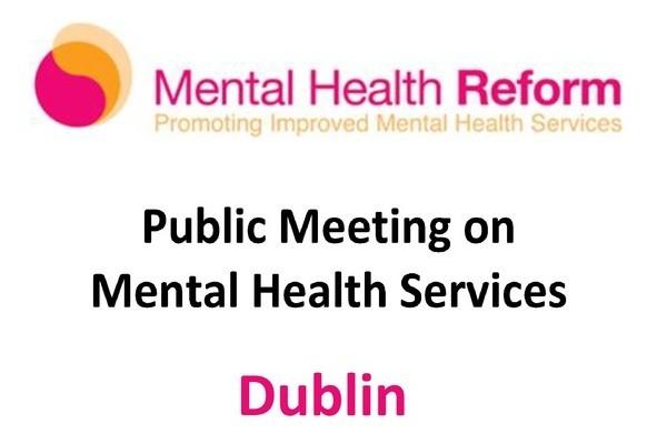 Mental Health Reform Meeting