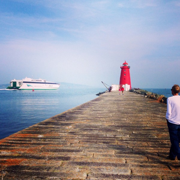 Emma Doolin with another great shot of the South Wall Lighthouse!