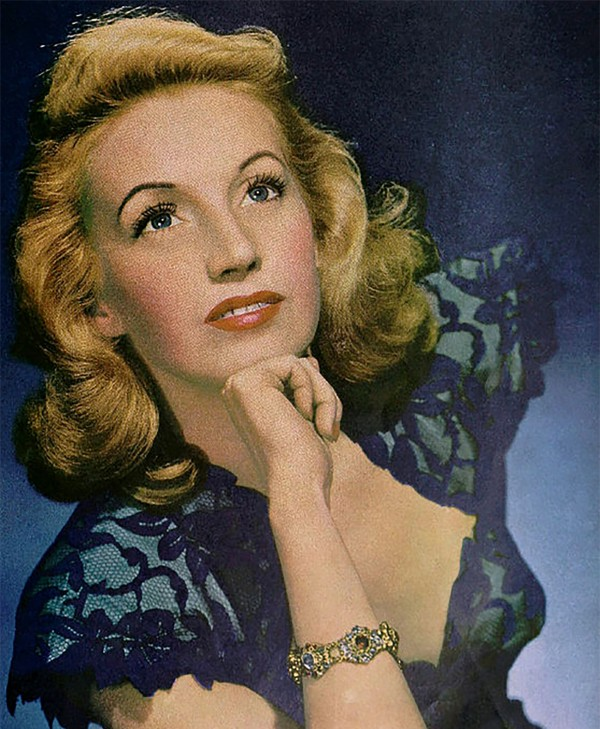 Pictured Above: Martha Tilton, lead vocalist for the Benny Goodman Orchestra.