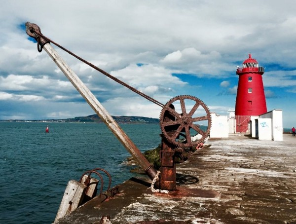 Sinead Hogan's photo of the lighthouse on the South Wall