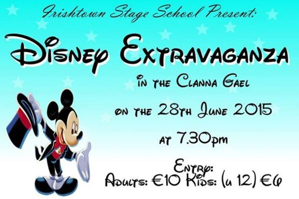 Irishtown Stage School Presents Disney Extravaganza