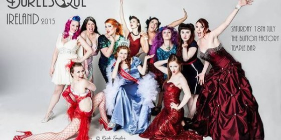 Miss Burlesque Ireland 2015: Lady Veneray