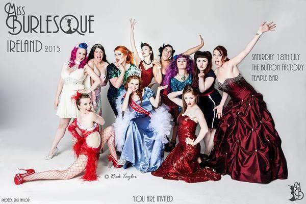 Miss Burlesque Ireland 2015