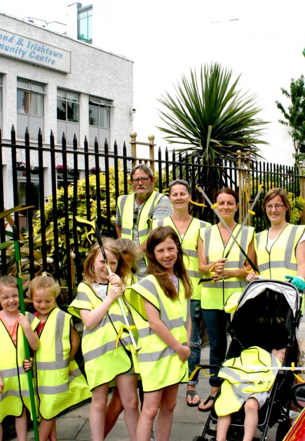 Ringsend Community Clean Up 2015