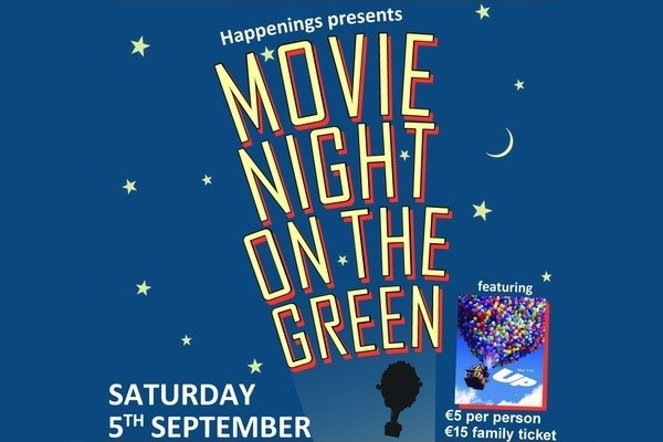 Happenings presents Movie Night on the Green