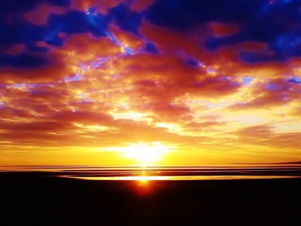 John Hawkin's beautiful sunrise in D4