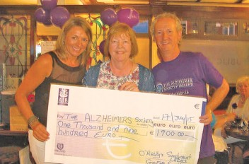 Sandymount Ladies tee-off for Alzheimers