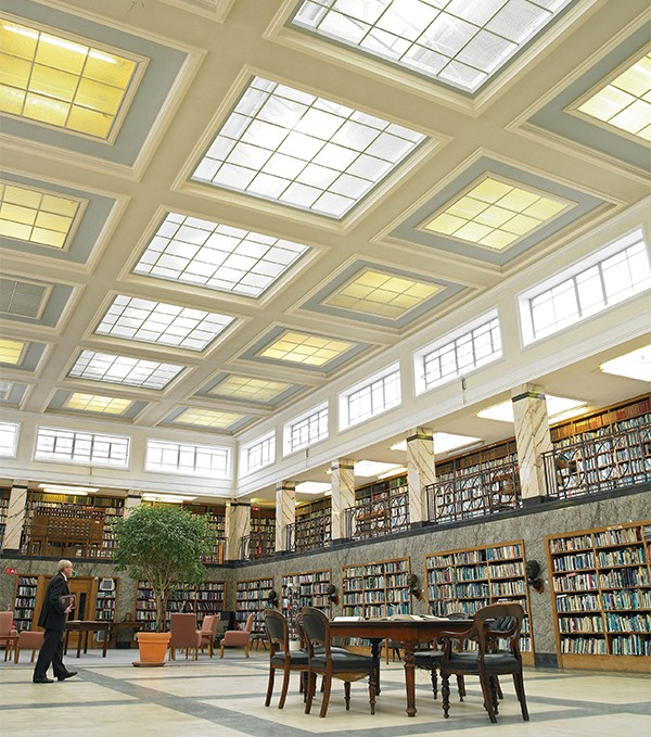 Pictured above: The RDS Library.