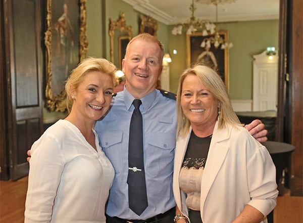 Pictured Above: Teresa Weafer, Manager of RDRD and the Spellman Centre, Superintendent Gerry Delmar, Mary Doolin, Senior Staff member of RDRD at the Spellman Centre awards in the Mansion House.