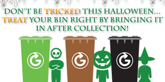 Bin Safety this Halloween