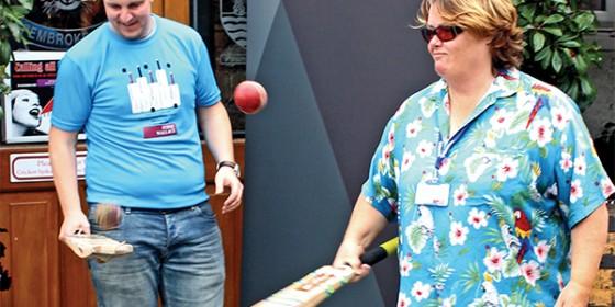 Pembroke Cricket Club World Record Attempt