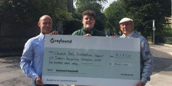 Sandymount Resident Named Recycling Champion