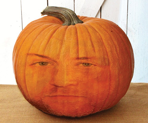 Pictured Above: Cranky Craig the Pumpkin.