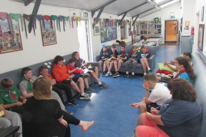 Dublin2020 had tea and chats with the Dodder Sea Scouts in 2015. Pic: Sarah Jackson for Dublin2020