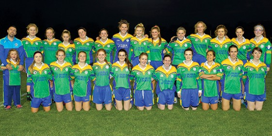 Clanna Gael Fontenoy ladies win league and championship