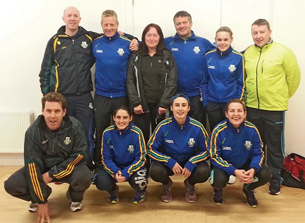 Pictured: Eleven Club coaches recently completed the Level 1 coaching course – the largest number of Level 1 coaches produced in the Club in one year. Back, left to right: Brian Delany, Declan Darcy, Mary O'Connell, Jimmy Dolly, Claire Byrne, Donal Murray, Front, left to right: Donough McDonough, Rachel Byrne, Daire Power, Sarah-Jane Cody (and Cathal Carty missing from photo)