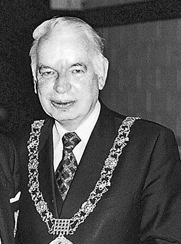 Above: Joe Doyle during his tenure as Lord Mayor of Dublin.
