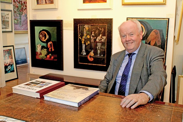 Pictured: Owner of Gallery 4 Nigel Bennett.