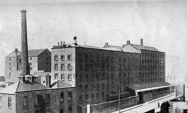 Pictured Above: A picture of Boland's Mills from the time – courtesy of Conor McNamara.