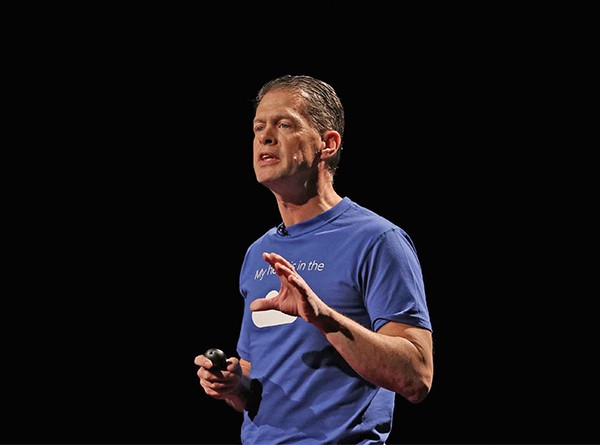 Above: Steven Duggan, Director of Worldwide Education Strategy at Microsoft Corporation.