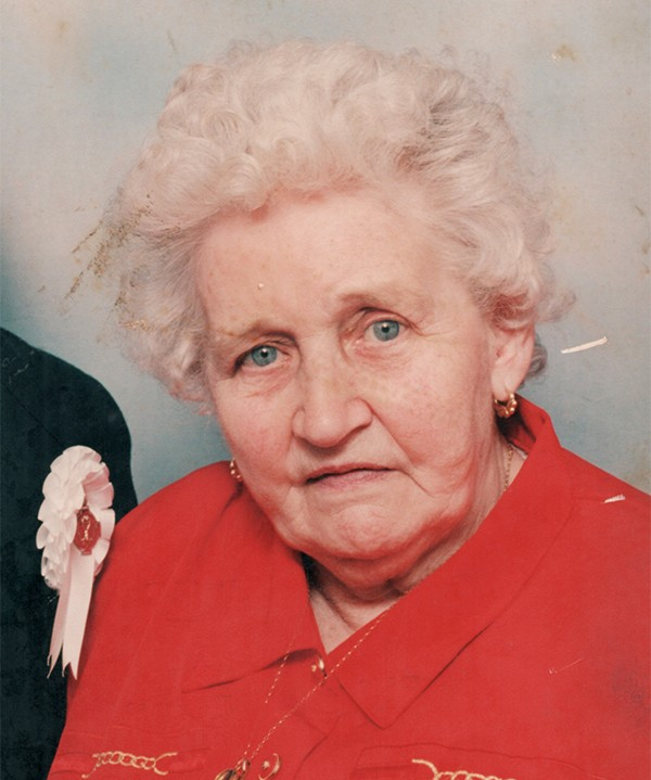 "Pictured: Margaret ""Bernie"" Fitzgerald."