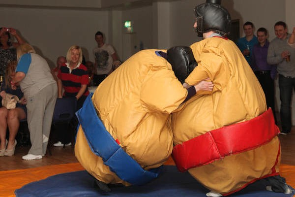Sumo Wrestling in aid of Pieta House