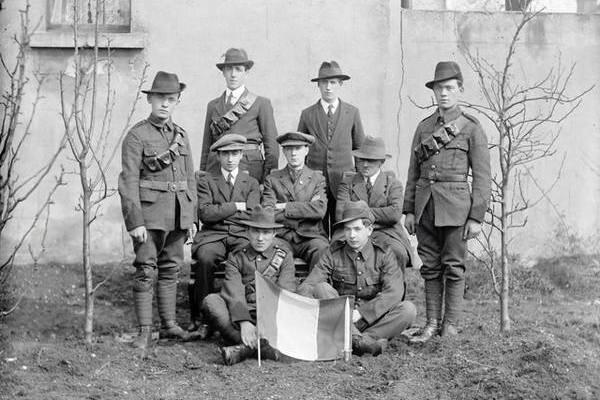 1916 Battle of Mount Street Bridge Survivors