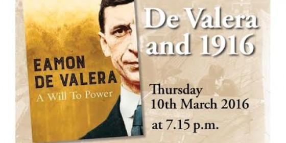 de Valera historian to give 1916 lecture