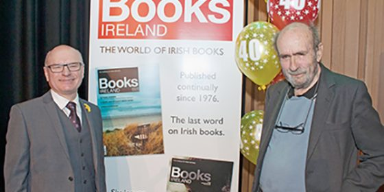 Books Ireland: 40 years and flourishing