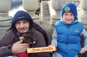 Never Alone With A Toblerone