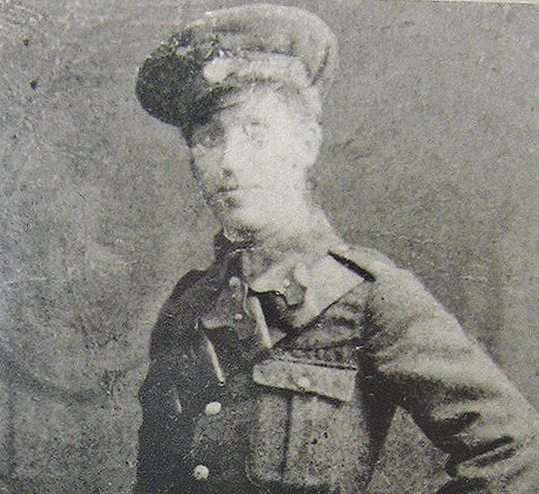 Pictured: The young Patrick Joseph Roe in uniform.