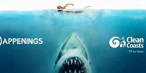 Jaws comes to Sandymount Beach