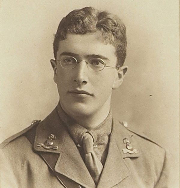 Above: Second Lieutenant Arthur Charles De Burgh Daly, from the Fourth Battalion of the Royal Dublin Fusiliers, who died in the First World War.