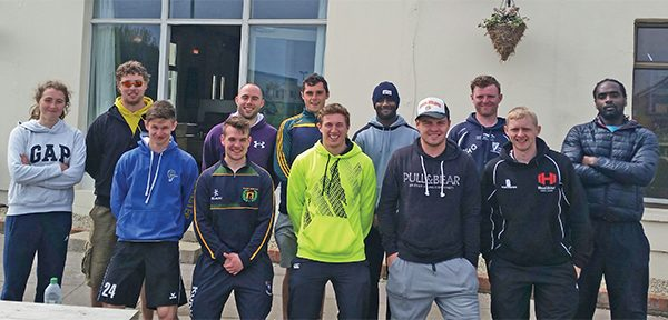 Pictured above are the coaches from the various sports who assisted and ran a very enjoyable Multi-Sports Camp at Railway Union Cricket Club during the May mid-term break.  Picture courtesy David Carroll.